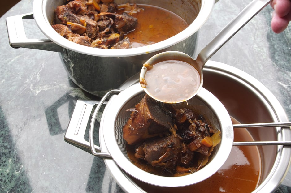 Prepare your own Veal Stock, Recipe with Professional Instructions, Kitchen Story with Step by Step Pictures