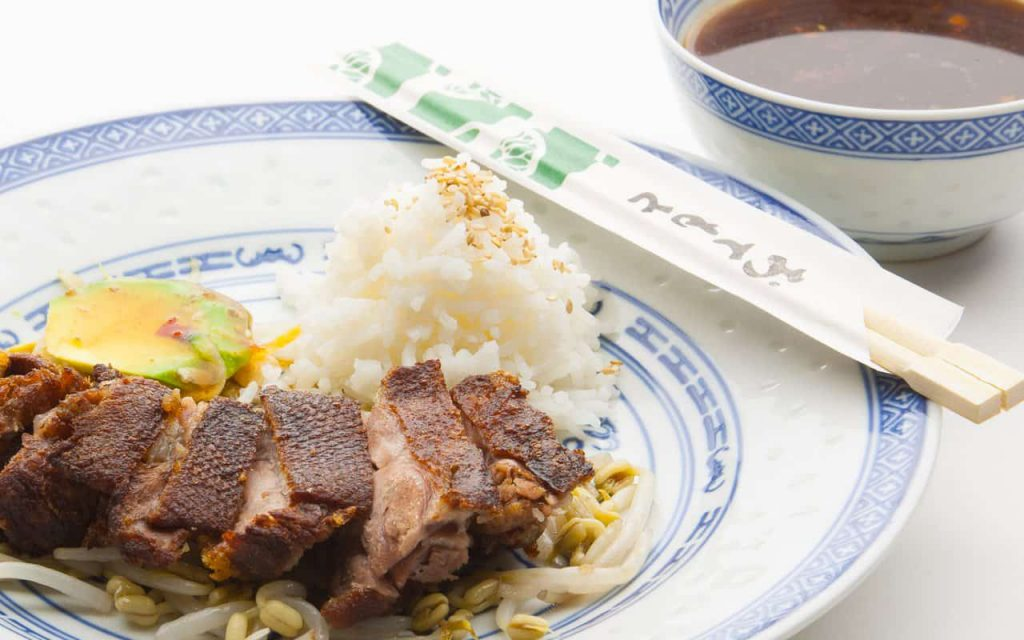 duck breast crispy with honey soy sauce - delicious recipe from Chinese cuisine.