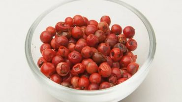 red berries which are often referred to as red pepper.
