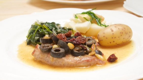 recipe for italy style veal escalope