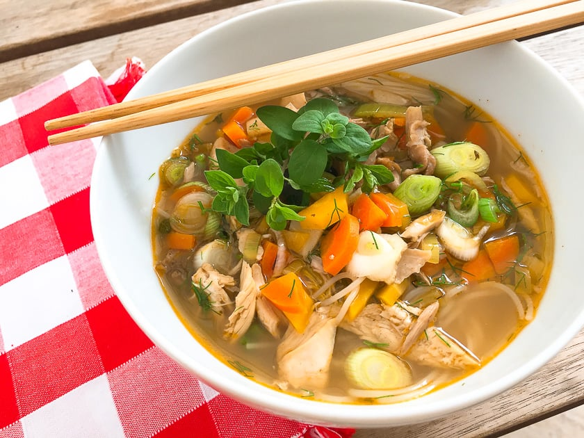 Uploaded to Chicken Broth Recipe with Chef Tips and Cooking Video for delicious Chicken Soup