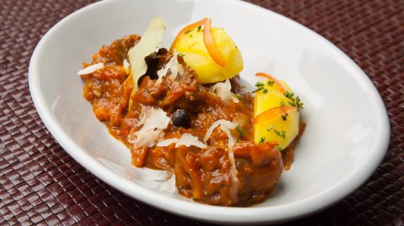Recipe picture of the Szegediner goulash