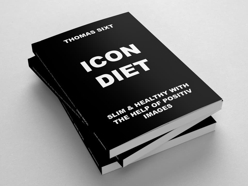 icon diet book from thomas sixt. getting slim and healthy with the help of positiv images