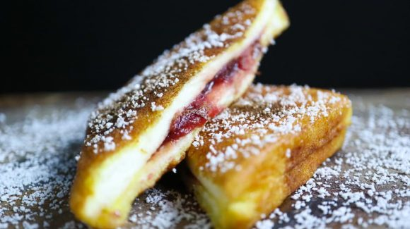 Recipe picture French toast.