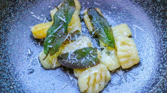 Gnocchi with sage butter recipe picture