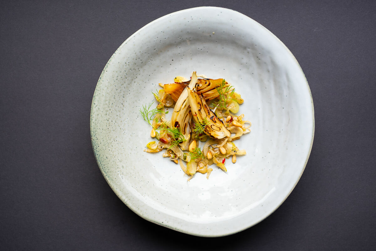 Recipe image Fennel on a plate