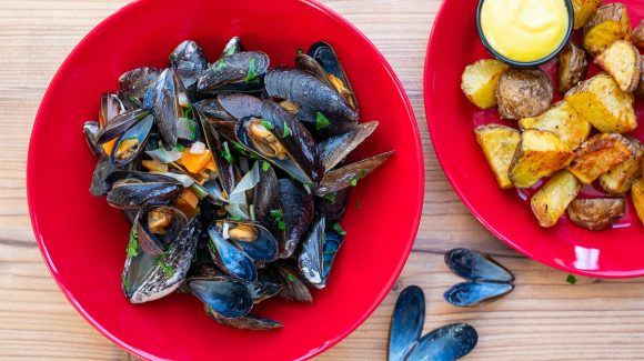 Moules fries recipe picture