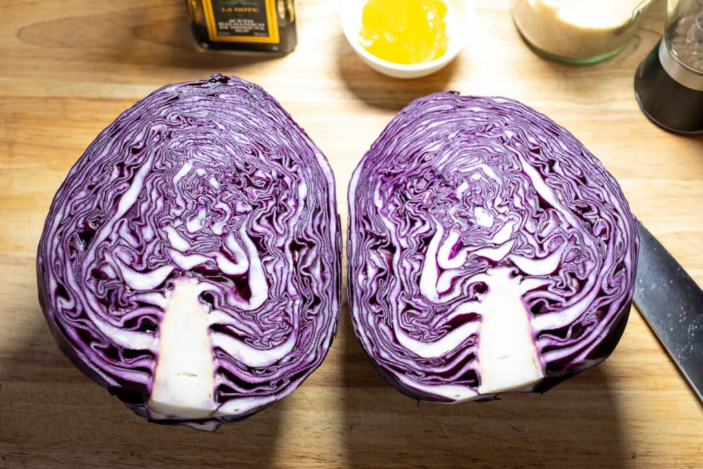 Red cabbage - red cabbage