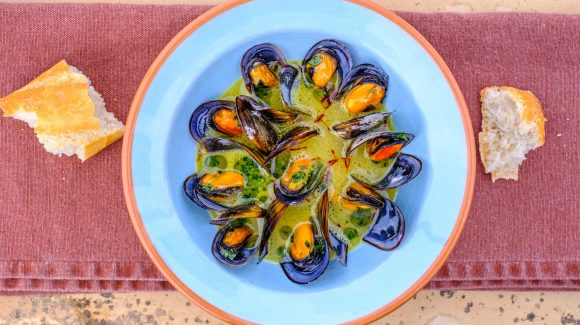 Prepare mussels quickly