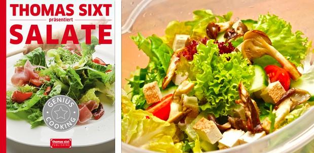 Salat und Salatdressing Rezepte iPad Kochbuch