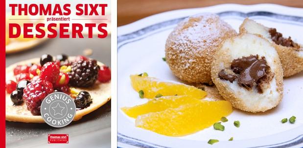 iPad® kochbuch Dessert Rezepte von Thomas Sixt.