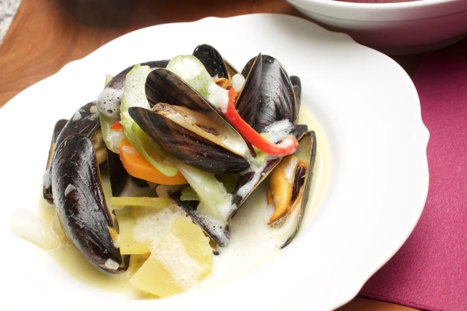 Muscheln in Weißwein, Rezept mit Video, alle Tipps und Tricks der Profiköche auf einen Blick