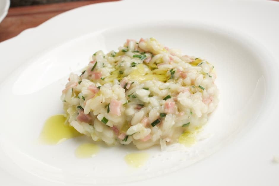 Simple Risotto with Ham, Cooking Video and Step by Step Story