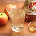 Apfelessig Honig Drink für den gesunden Start am Morgen. Bild und Rezept (c) Thomas Sixt.