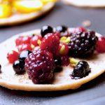 pfannkuchen mit Beerenfrüchte oder weitere Variante im Rezept
