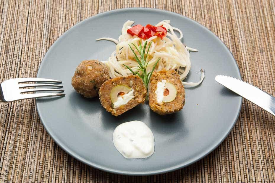 Fleischpflanzerl grichisch - fleisch oder hackbällchen