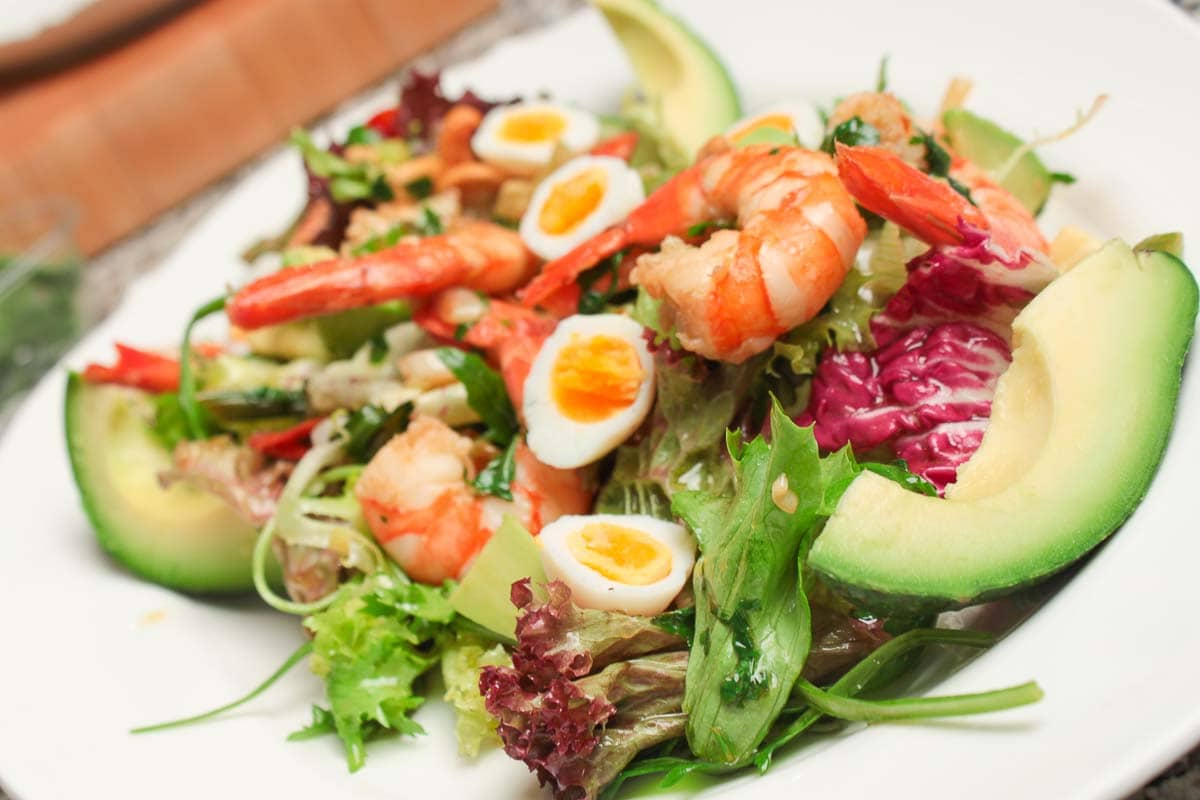 recipe picture salad with shrimp avocado