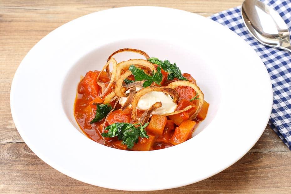 Kartoffelgulasch vegan und deftig