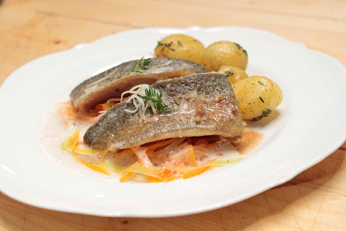 Fried Trout Fillet, Recipe and Kitchen Story with Cooking Video
