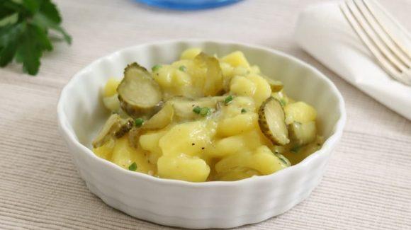 Klassischer Kartoffelsalat Rezept Bild