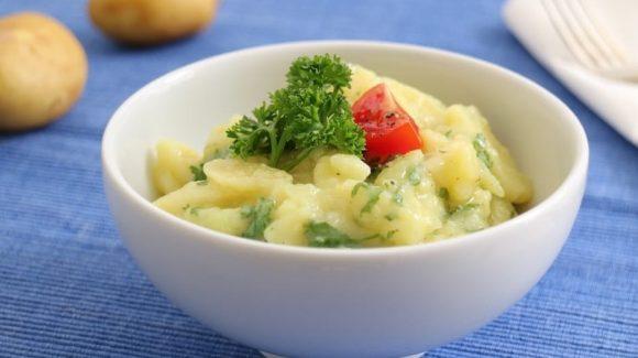 Schwäbischer Kartoffelsalat Rezept Bild