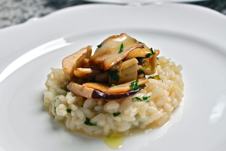 Mushroom Risotto Recipe, so easily and quickly you cook a Risotto with Mushrooms
