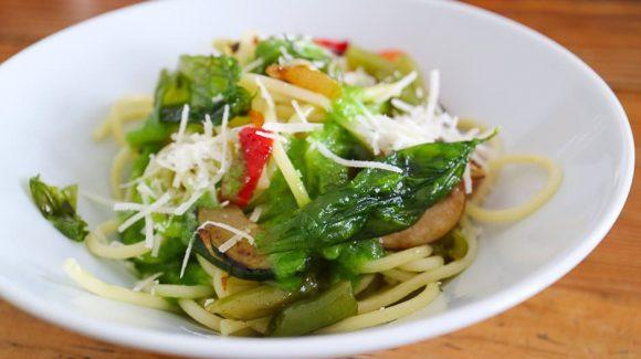 Gemüsespaghetti Rezept Bild zum Kochwiki Beitrag und Schritt für Schritt Anleitung