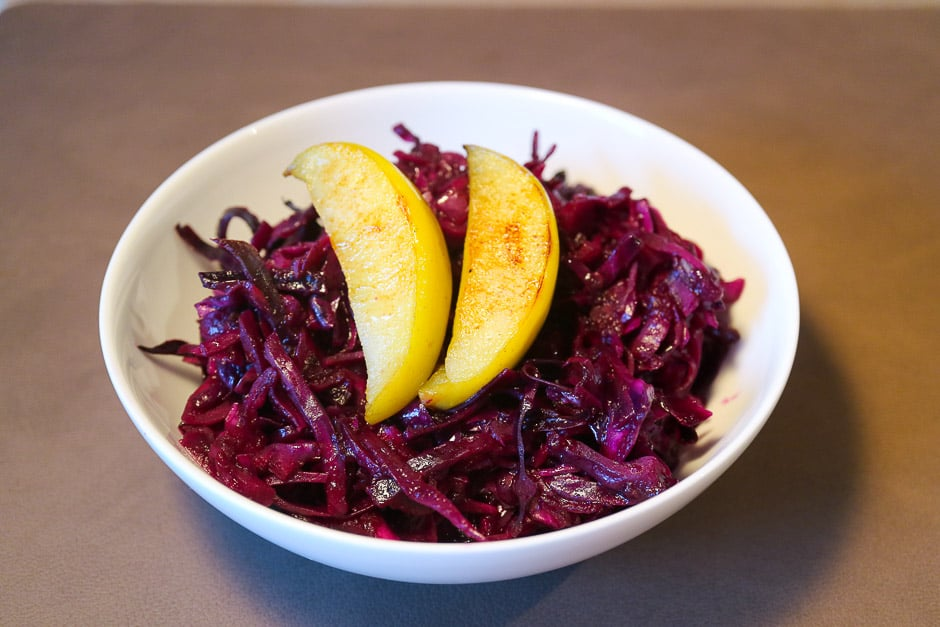 Blue Cabbage – Red Cabbage Recipe with Instructions and Video all Tips of the Professional Kitchen