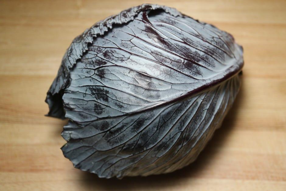 Blaukraut- Rotkraut - Rotkohl ein ganzer Kopf