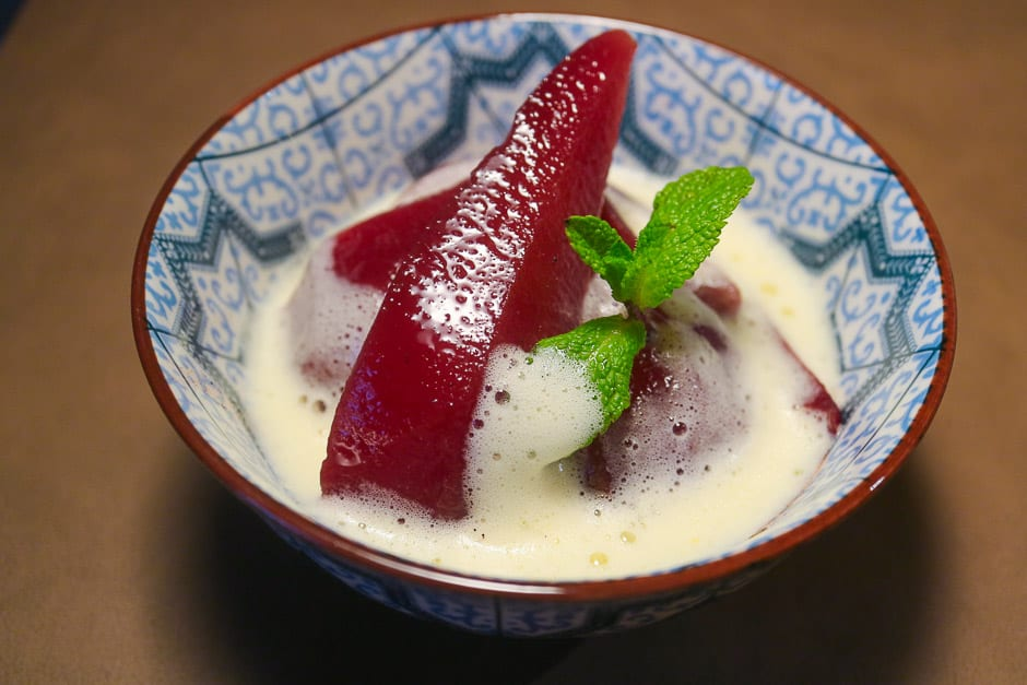 Red Wine Pears Recipe and Red Wine Pears Dessert Recipe