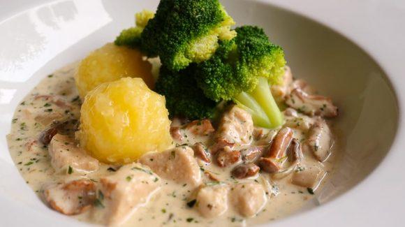 Kalbsrahmulasch goes Veggie, vegetarisches oder veganes Gulasch lecker zubereiten.