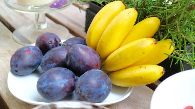 Früchte für Fondue Dessert...