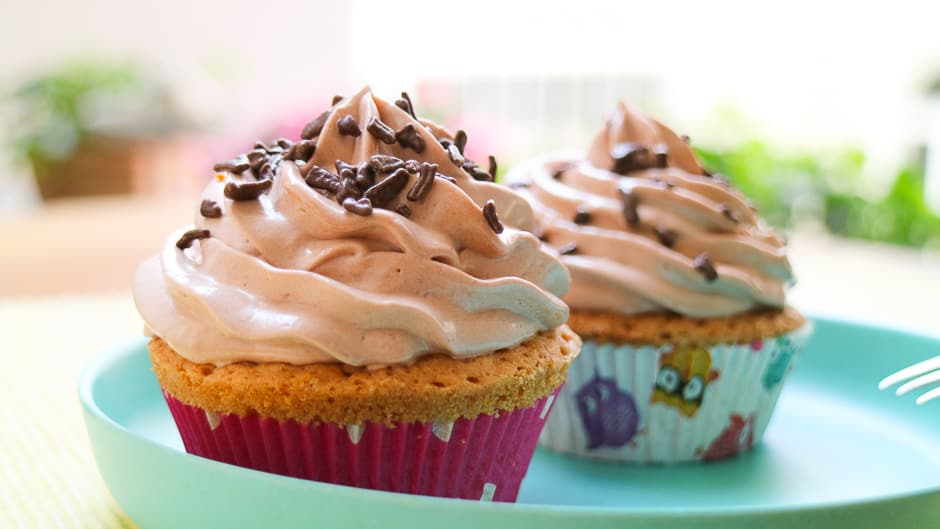 Nutellacupcakes gelingsicher backen
