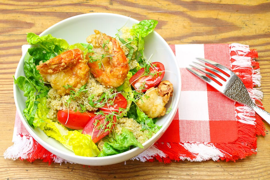 Quinoa Salat Rezept für die einfache Küche