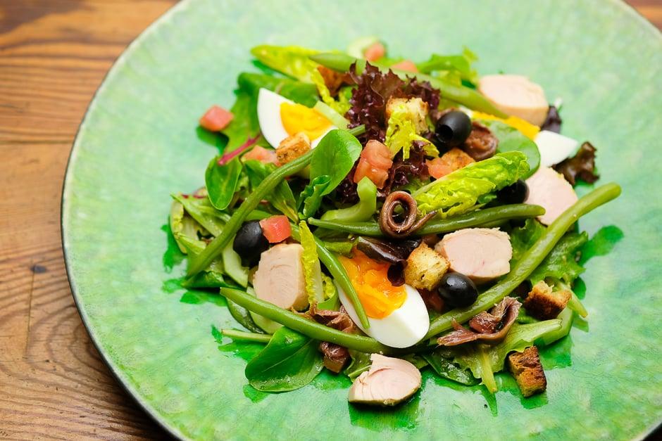 Salat Nicoise Rezept, Nizza-Salat oder Nizzaer Salat Schritt für Schritt zubereiten wie ein Pro!
