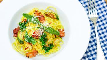 Spaghetti Carbonara Rezept Original Bild