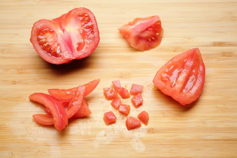 Tomatenwürfel Tomatenconcasse vorbereiten