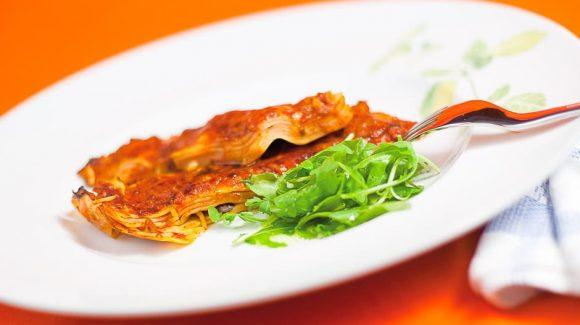 vegetarische Lasagne Kochrezept