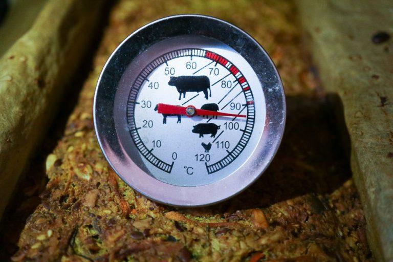 Measure bread temperature.
