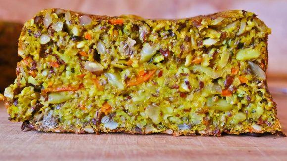 Schnittbild Low Carb Brot
