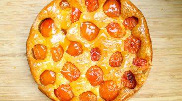 Rezept Bild Aprikosenkuchen.