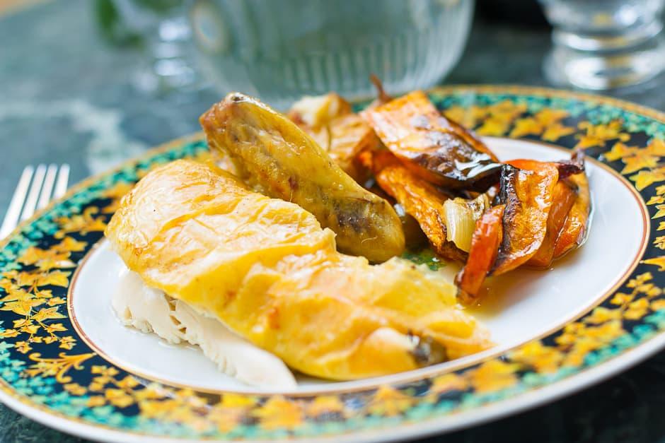 Prepare Roast Chicken in the Oven, Recipe with Chef Tips