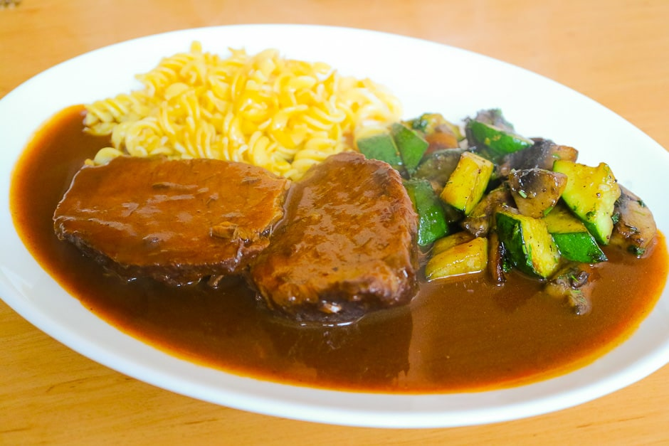 Marinated Stewed Roast Beef Recipe German Rinderbraten with Chef Step by Step Instructions