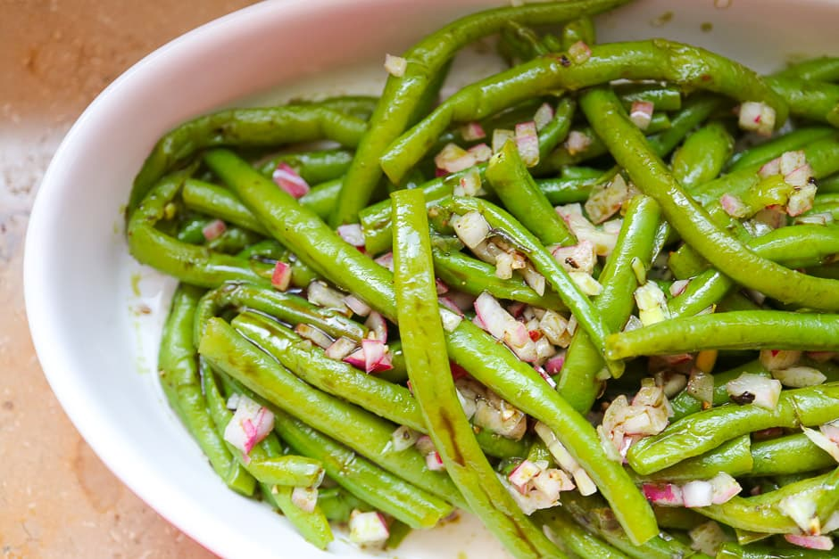 Bean Salad Recipe, prepare Salad with Green Beans