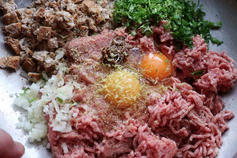 hackfleischmasse für Frikadellen