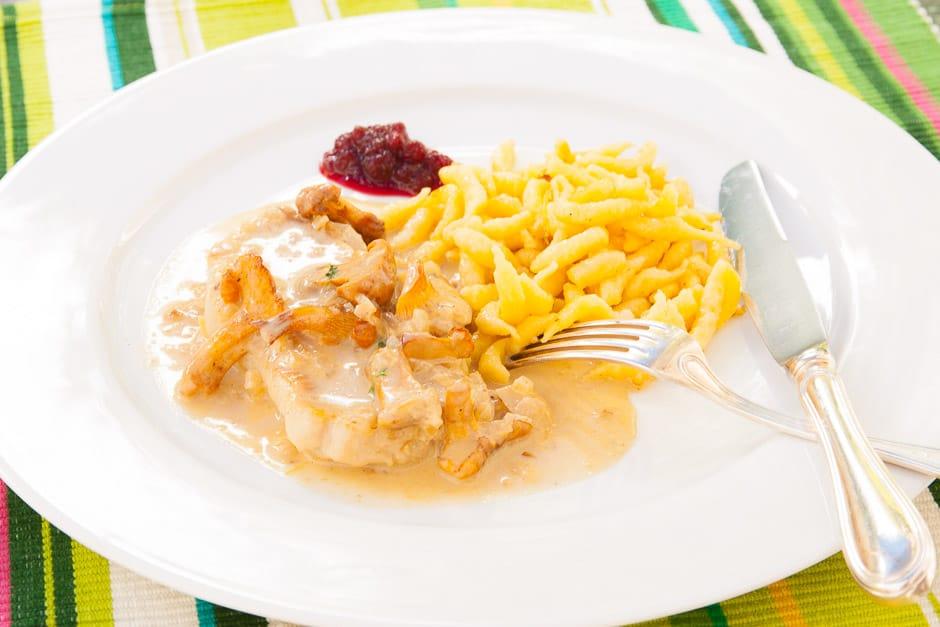 Cream Schnitzel Recipe for the simple Kitchen