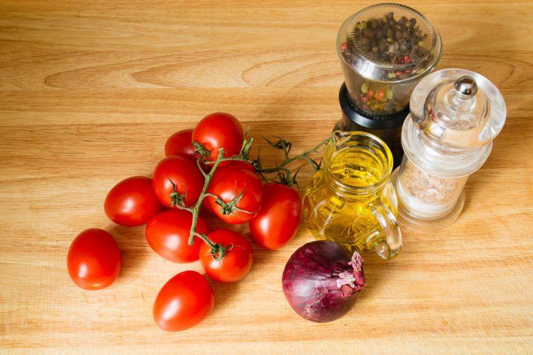 Zutaten Tomatensalat