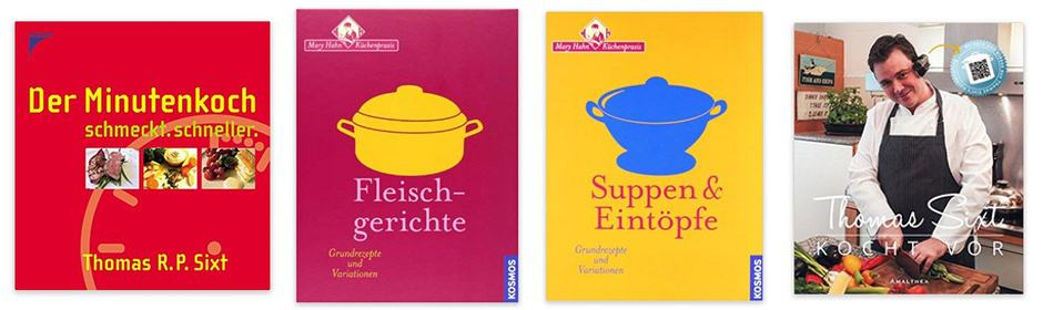 Kochbücher von Thomas Sixt, Kochprofi und Foodfotograf