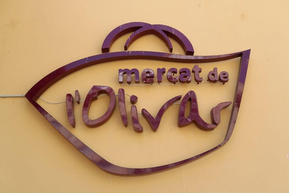 mercat de l olivar in Palma de Mallorca