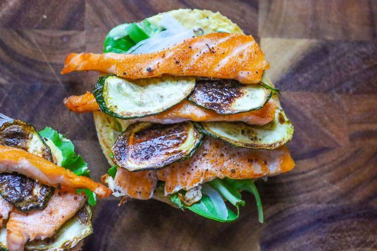 Fisch Burger belegen